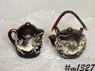 DRAGON WARE SALT AND PEPPER SET