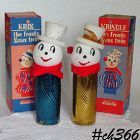 TWO KRIS KRINGLE CANDY CONTAINERS IN ORIGINAL BOXES!