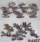 LOT OF 19 VINTAGE CHRISTMAS TREE CLIP TYPE CANDLE HOLDERS