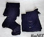 VINTAGE VAN RAALTE STOCKINGS SIZE 9 BLACK