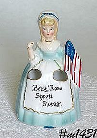 "ENESCO -- ""BETSY ROSS"" SPOON STORAGE"