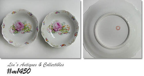 SET OF TWO VINTAGE SERVING BOWLS MADE IN GERMANY