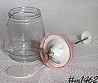 RETRO -- FOOD CHOPPER WITH PINK LID