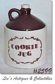 "McCOY POTTERY -- ""WHISKEY JUG"" COOKIE JAR"
