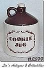 """McCOY POTTERY -- """"WHISKEY JUG"""" COOKIE JAR"""