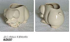 McCOY POTTERY -- PIG PLANTER