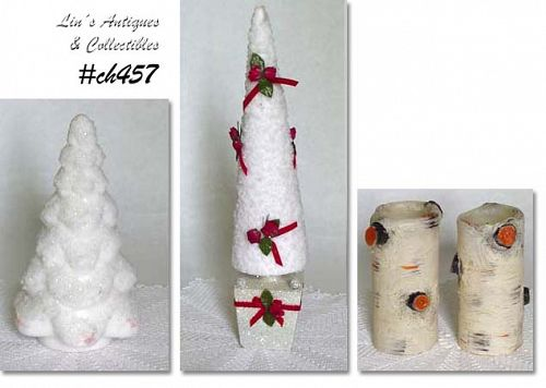 CHOICE VINTAGE RETRO HOLIDAY CANDLES See Description for Availability