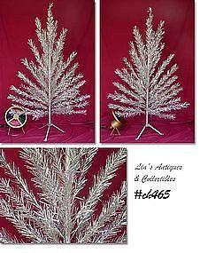 "6 FT. ""SPARKLER ALUMINUM TREE WITH COLOR WHEEL"