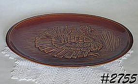 McCOY POTTERY -- TURKEY PLATTER
