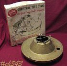 VINTAGE HOLLY TIME CHRISTMAS TREE STAND FOR LIVE TREE W/ORIGINAL BOX