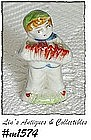 OCCUPIED JAPAN -- LITTLE BOY FIGURINE