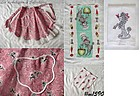 POODLE APRON AND TWO POODLE KITCHEN TOWELS