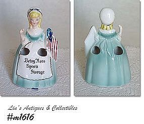 ENESCO -- BETSY ROSS SPOON STORAGE (HOLDER)