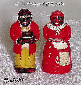 AUNT JEMIMA AND UNCLE MOSE SHAKER SET