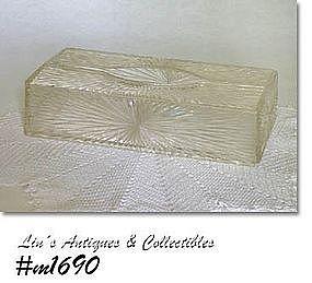 CELEBRITY  HARD PLASTIC TISSUE HOLDER