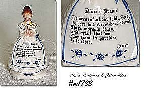 ENESCO -- PRAYER LADY NAPKIN HOLDER (WHITE DRESS)