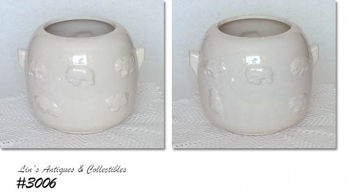 "McCOY POTTERY -- ""ANIMAL CRACKERS"" COOKIE JAR BOTTOM"