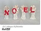 RELCO -- VINTAGE NOEL ANGEL CANDLEHOLDERS
