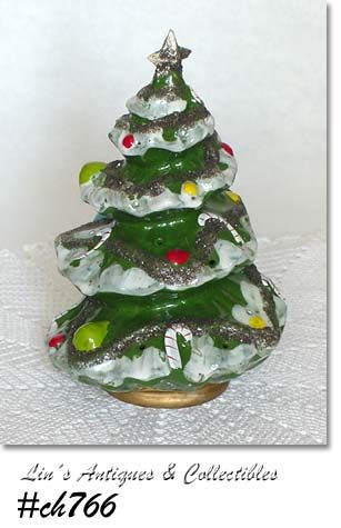 KREISS & CO. -- SMALL VINTAGE CHRISTMAS TREE