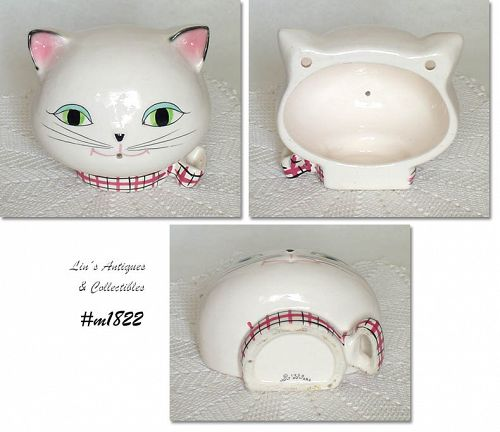 HOLT HOWARD VINTAGE COZY KITTEN STRING HOLDER DATED 1958