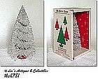 """ST. NICK"" TREE IN ORIGINAL BOX"