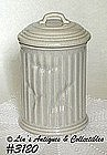 McCOY POTTERY -- TRASH CAN COOKIE JAR
