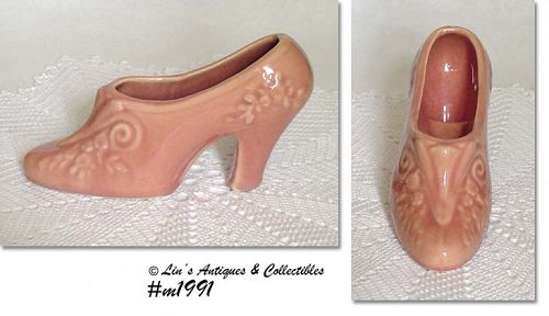 SHAWNEE POTTERY -- LADY'S SHOE PLANTER