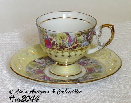Vintage Lefton Cup and Saucer