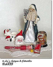 ASSORTMENT OF VINTAGE CHRISTMAS ITEMS!!