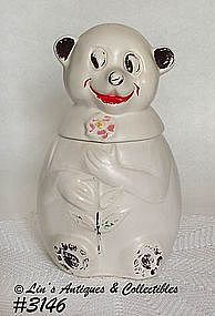 McCOY POTTERY -- SNOW BEAR COOKIE JAR