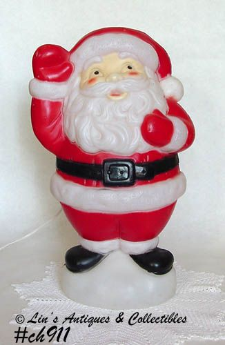 VINTAGE EMPIRE PLASTICS LIGHTED SANTA DATED 1996
