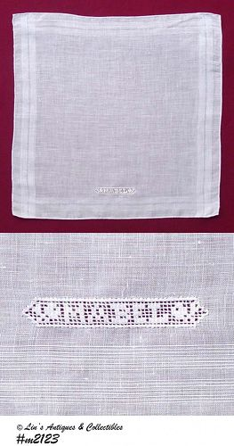 "EXQUISITE HANDKERCHIEF FOR ""MABEL"""