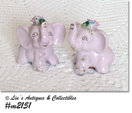 LITTLE PINK ELEPHANTS SHAKER SET