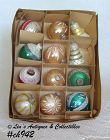 1 DOZEN WEST GERMANY ORNAMENTS