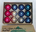 1 DOZEN ORNAMENTS (CORNING)