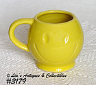 McCOY POTTERY -- VINTAGE SMILE HAPPY FACE MUG