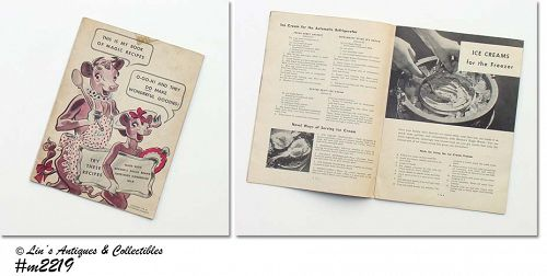 ELSIE THE COW BORDEN'S EAGLE BRAND VINTAGE COOKBOOK COPR 1942