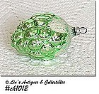 GREEN BERRY GLASS ORNAMENT