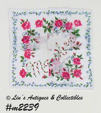 VINTAGE HANDKERCHIEF FOR MOTHER