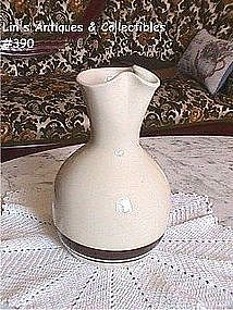 McCOY POTTERY -- PASTA CORNER OR STONECRAFT CARAFE
