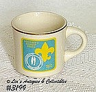McCOY POTTERY -- BOY SCOUT CUP (1972)