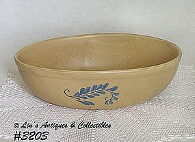 McCOY POTTERY -- BLUEFIELD SERVING BOWL