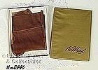 2 PAIRS �NO MEND� SEAMED NYLONS, SIZE 8 ½