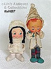 BOY AND GIRL ORNAMENTS