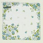 "BLUE FLORAL ""MOTHER"" HANDKERCHIEF"
