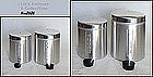 ALUMINUMWARE -- VINTAGE EVERBRITE (ITALY) CANISTER SET MINT IN BOX!
