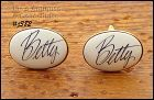 CUFFLINKS FOR BETTY