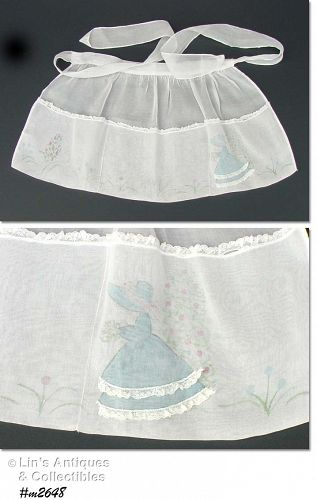 FLOWER GARDEN GIRL APRON