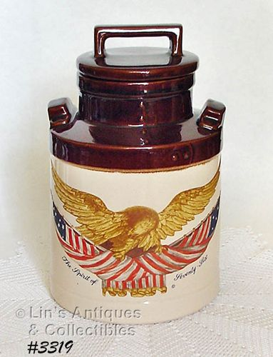 McCOY POTTERY -- SPIRIT OF '76 COOKIE JAR