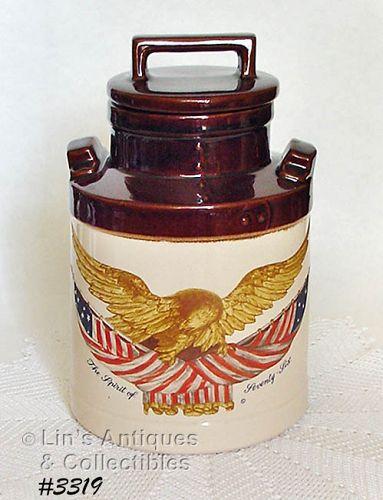 McCOY POTTERY -- SPIRIT OF '76 COOKIE JAR